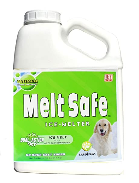 96d5f2126f0 Amazon.com   Cleen Products MELT Safe - Ice Melt for Pets - 10-lb Size -  Safe for use as a Snow and ice Melter on driveways and Sidewalks -  Easy-Shake ...