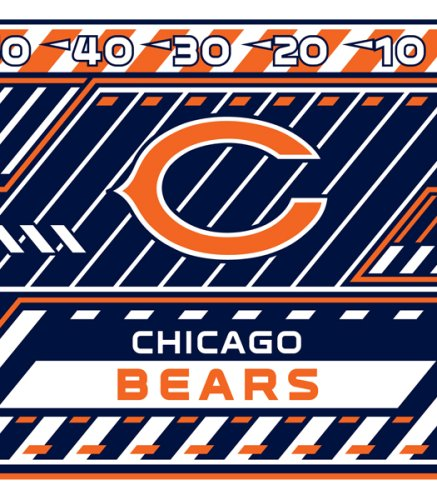 Nfl Stretch Book Covers - Turner Chicago Bears Stretch Book Cover (8190170)