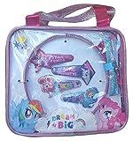 H.E.R. Accessories My Little Pony 5 Piece Hair Accessory Set - Clips, Headband and Bonus Travel Bag