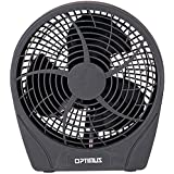 Optimus F-0622 6-Inch 2-Speed Personal Fan, Charcoal