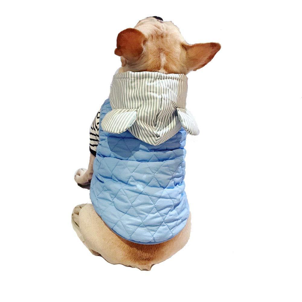 saldi JHC JHC JHC Vestiti del Cane Vestiti Caldi Vestiti di Maglia di Cotone di Spessore Vestiti Adatti per Busto 52-62cm (Blu, M),blu-XL  ci sono più marche di prodotti di alta qualità