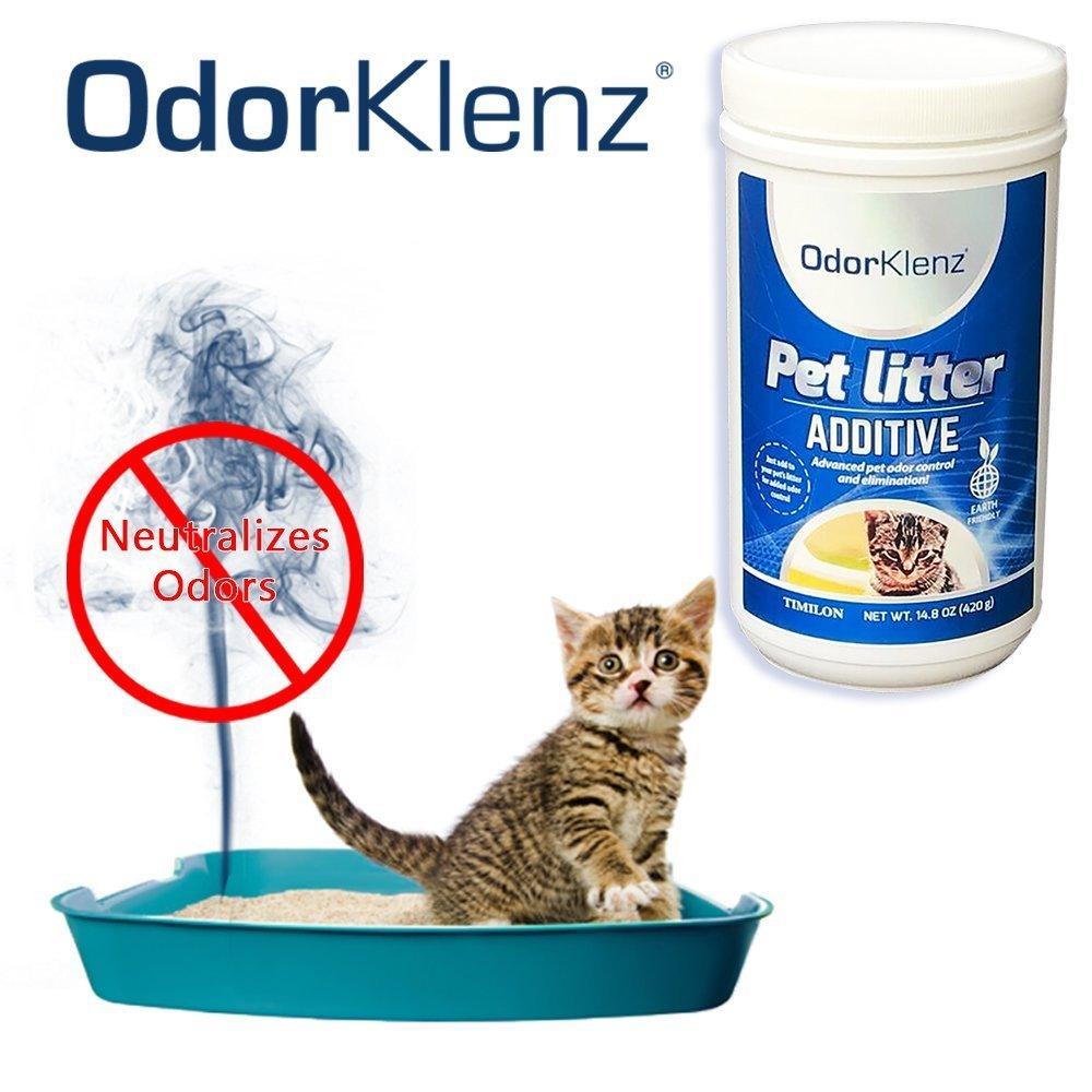 Odorklenz Pet Litter Additive Odor Neutralizer Made in USA