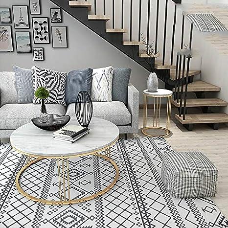 DSFSGFG Louis Fashion Tables Basses Scandinave en Marbre Thé ...