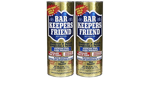 Amazon.com: Bar Keepers Friend MORE Spray + Foam Cleaner, 25.4oz Spray Bottle - BKF11727: Health & Personal Care