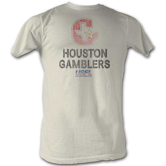 A&E Designs usfl Houston jugadores camiseta Liga de fútbol ...