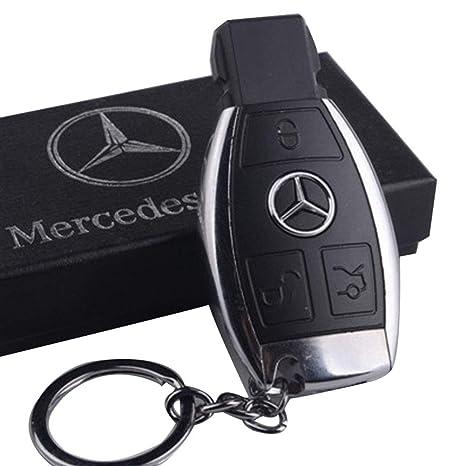 Nilefen Mercedes USB Encendedor de Cigarrillos con Llavero ...