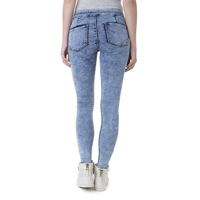b345f4a5a7b37 Jordache J Jeans Juniors' High Waisted Pull On Jeggings at Amazon Women's  Clothing store: