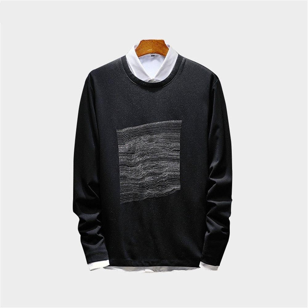 Lisux männer - Mode - Freizeit - männer Mode Pullover Pullover im Herbst alle männer - t - Shirt - Pullover mit Farbe,schwarz,XL