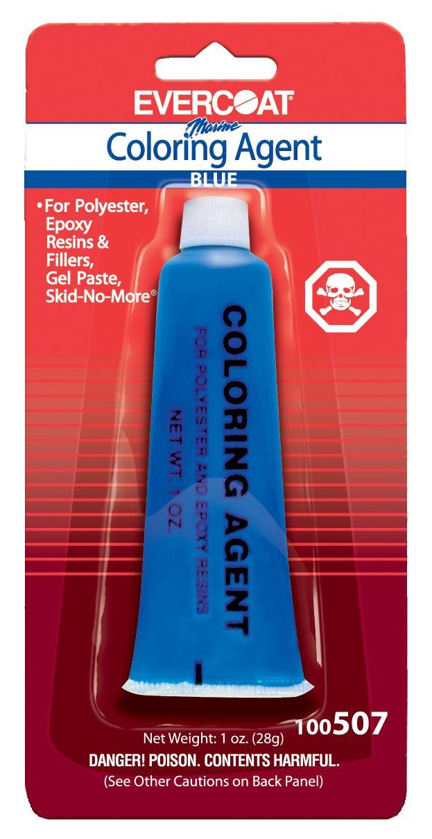 Amazon.com: Fibre Glass-Evercoat Co Color Agent(1 Oz.),Blue: Sports ...