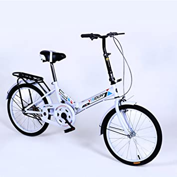 YEARLY Bicicleta plegable mujer, Adultos bicicleta plegable Las señoras bicicletas Hombres y mujeres Estilo Coche