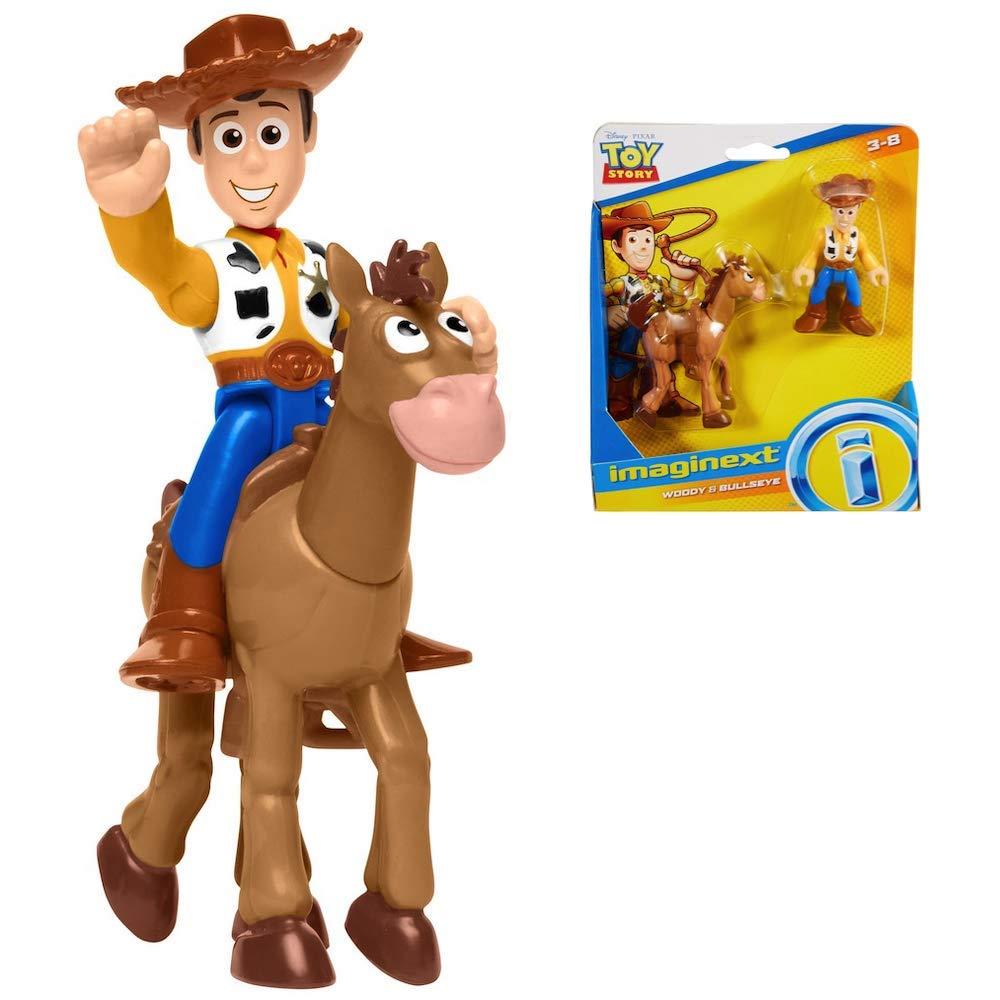Toy Story Disney Pixar 4 Woody /& Bullseye Adventure Pack Style:Woody /& Bullseye