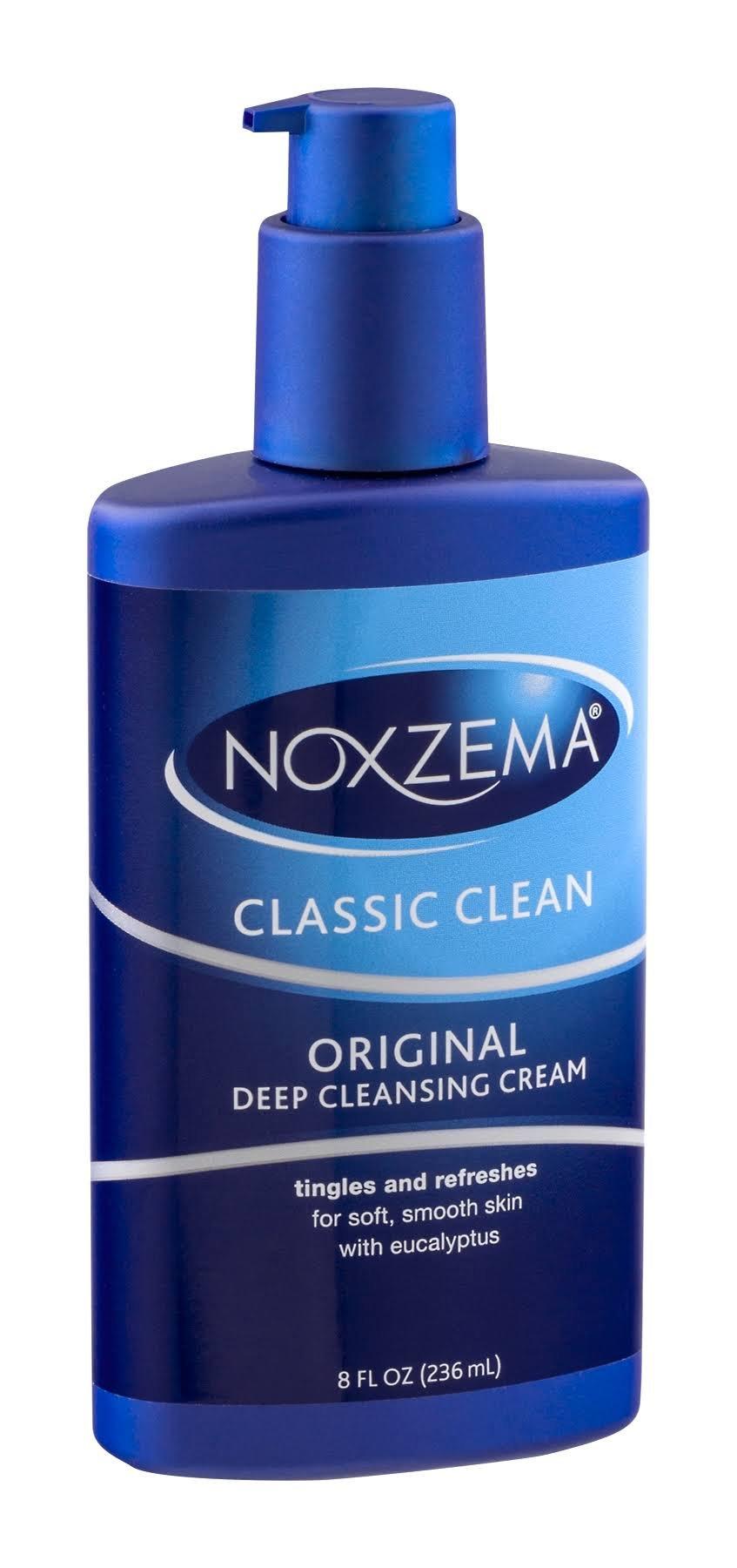 Noxzema Clean Moisture Deep Cleansing Cream 8 Oz (3 Pack)