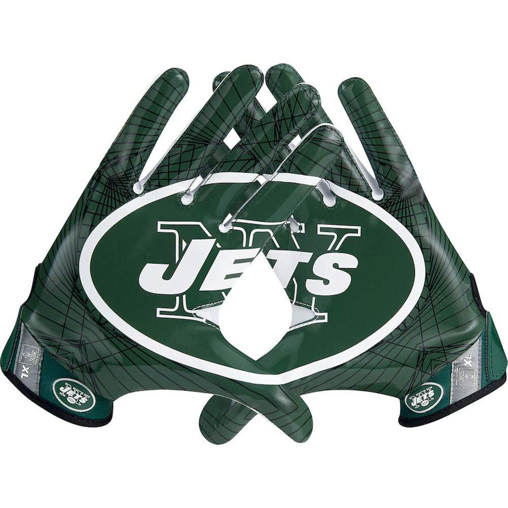 Nike新しいYork Jets Vapor Jetライト速度手袋 B06XZJB1R8