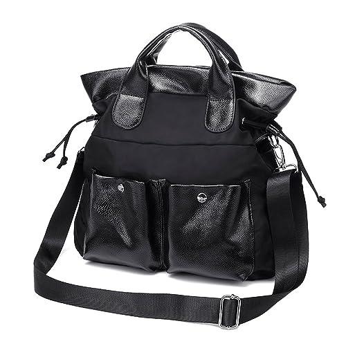 BYD - Mujeres Carteras de mano School Bag Work Bag Bolsa de viaje Nylon Bag with High Capicity and Multi Pockets Waterproof Design: Amazon.es: Zapatos y ...