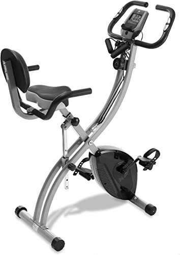 Node Fitness Stationary Folding Exercise Bike