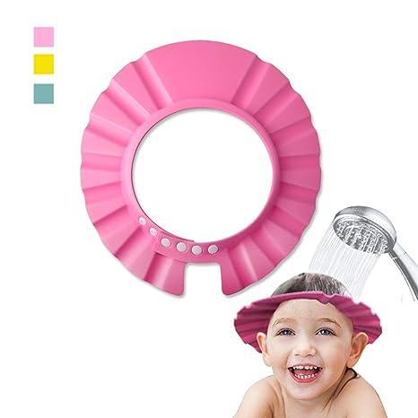 Pink Baby//Child Shampoo Bath Shower Wash Hair Shield