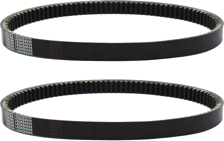 2pcs x New 40 Series Torque Converter Belt for Go Kart Comet 203785A 203785 Manco 12346 Belt