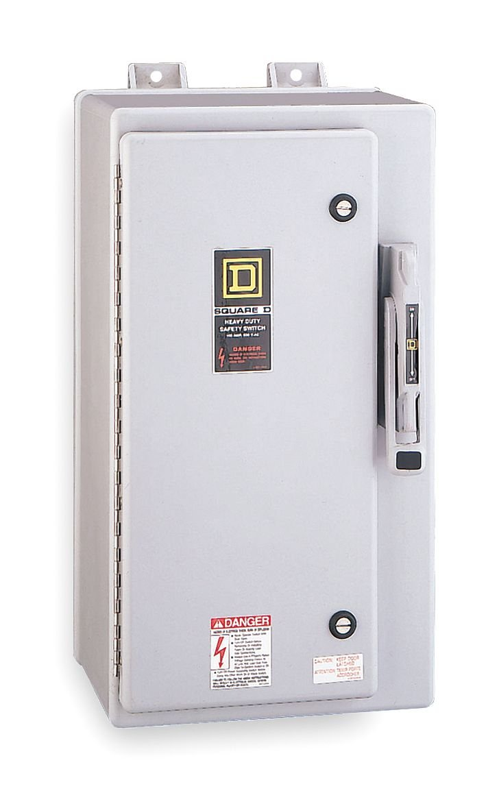 SCHNEIDER ELECTRIC Switch Nonfusible Hd 60-Amp 3-Point Krydon HU362DX 60A 3P