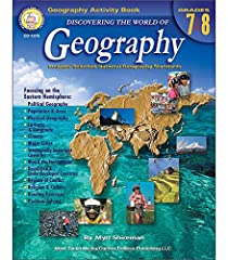 Explore the world with students in grades 7–8 using Discovering the World of Geography. This 128-page book helps students use geographical knowledge and skills to interpret and analyze data. This text covers topics including population...