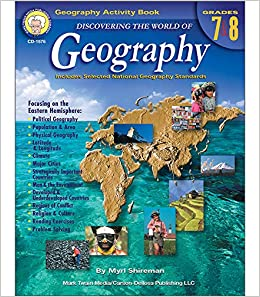 Amazon com: Discovering the World of Geography, Grades 7 - 8