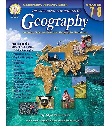 Discovering the World of Geography, Grades 7 - 8: Includes Selected National Geography ()