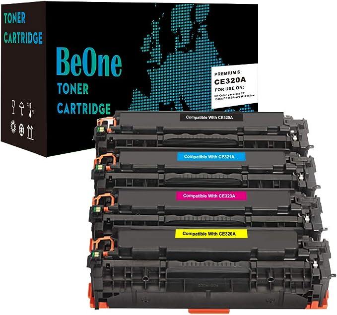 Beone Toner Kompatibel Zu 128a Ce320a Ce321a Ce322a Ce323a Für Colour Laserjet Pro Cp1525 Cp1515n Cp1525n Cp1525nw Cm1415 Cm1415fn Cm1415fnw Bürobedarf Schreibwaren