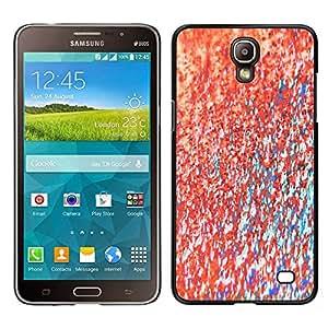 "Pulsar Snap-on Series Teléfono Carcasa Funda Case Caso para Samsung Galaxy Mega 2 , Teal textura de la pintura abstracta rosada"""