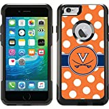 Coveroo Commuter Series Case for iPhone 6 Plus - Retail Packaging - University of Virginia Polka Dots