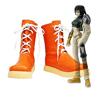 Final Fantasy VII FF7 Yuffie Kisaragi Cosplay Shoes Boots Custom Made 2