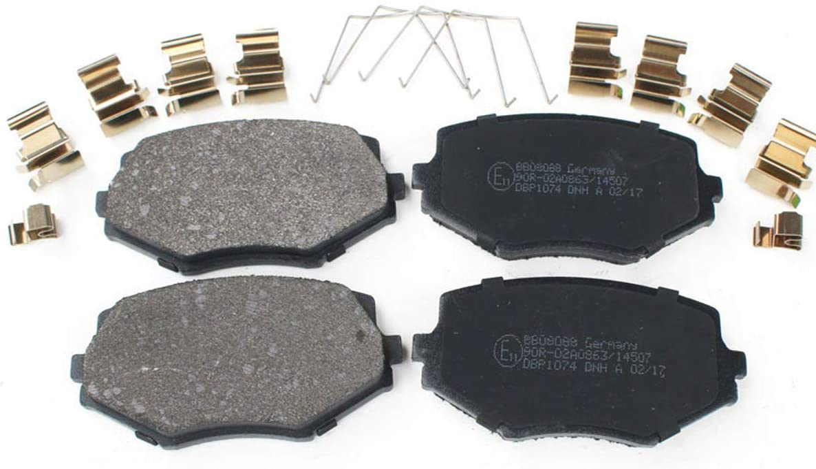 Bremsbelagsatz Scheibenbremse BB08088 NB Vorderachse f/ür MX-5 II