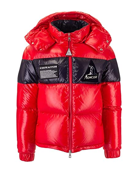 Moncler Luxury Fashion Mens 419078568950455 Red Down Jacket