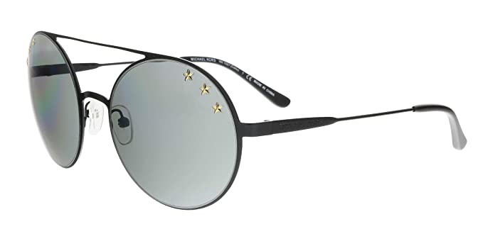 Michael Kors 0MK1027 Gafas de Sol, Shiny Black, 55 para ...