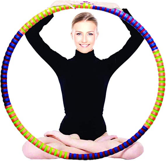 peque/ño tama/ño grande gimnasia amarillo y rojo Aros ol/ímpicos coloridos para interiores y exteriores morado PORTER AND LAMBERT Hula Hoop color azul