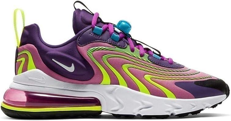 menú A menudo hablado Efectivamente  Amazon.com: Nike Air Max 270 React Eng Mujeres Ck2595-500: Shoes