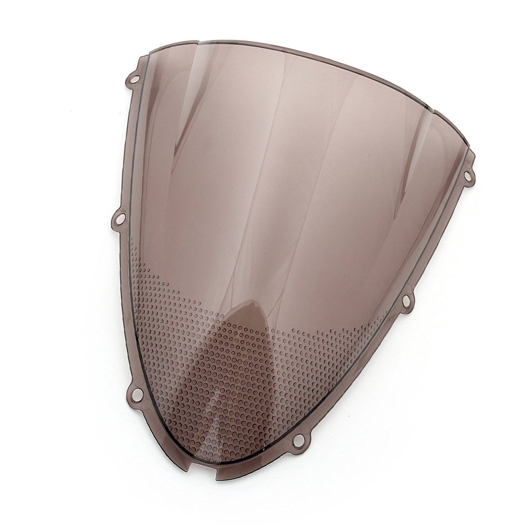 Amazon.com: Windshield Windscreen Double Bubble For Kawasaki ...