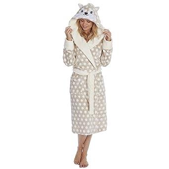 Vestido con Capucha para Mujer con Estampado de Animal y Festivo