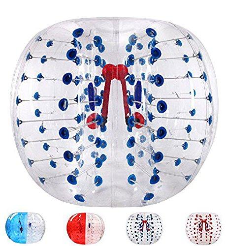 Aufblasbare Körper Stoßdämpfer Ball Bubble Ball PVC Blase Fußball Bälle Mensch Hamster Ball, Stoßstange Ball, Zorbing Ball, Loopy Ball , blue , 1.2m