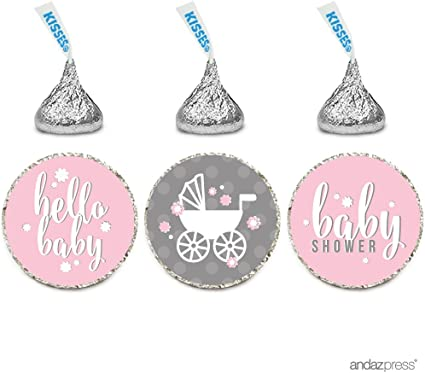 112 ITS A GIRL BUTTERMINTS Baby Girl Pink Candy Mint Baby Shower Party Favors