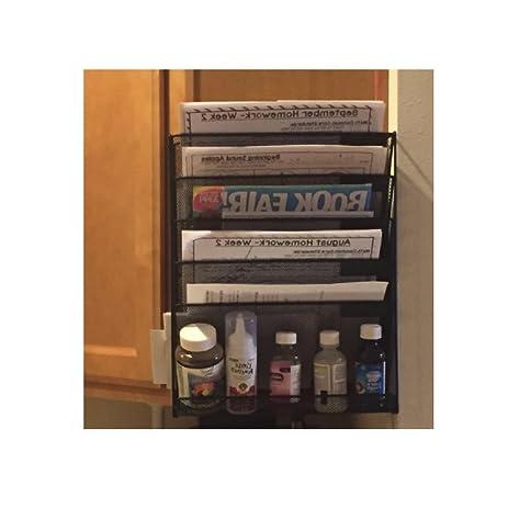 Wall Mounted File Cabinet Storage Folder Hanging Metal Organizer Rack  Office Kids School Home Work