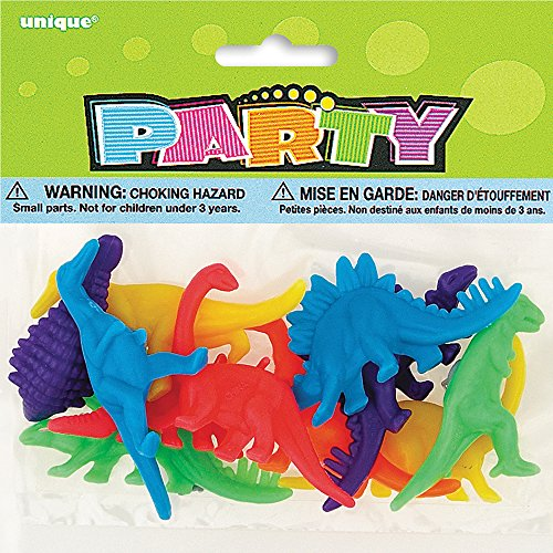 Plastic Dinosaur Party Favor Assorted