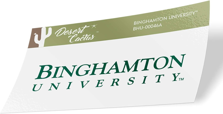 Binghamton University Bearcats NCAA Vinyl Decal Laptop Water Bottle Car Scrapbook (Sticker - 00046A)