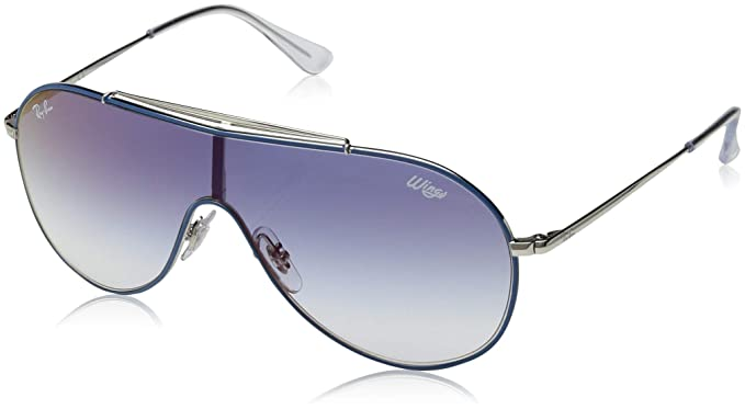 Ray-Ban 0RJ9546S Gafas de sol, Aviador, 45, Silver On Top ...