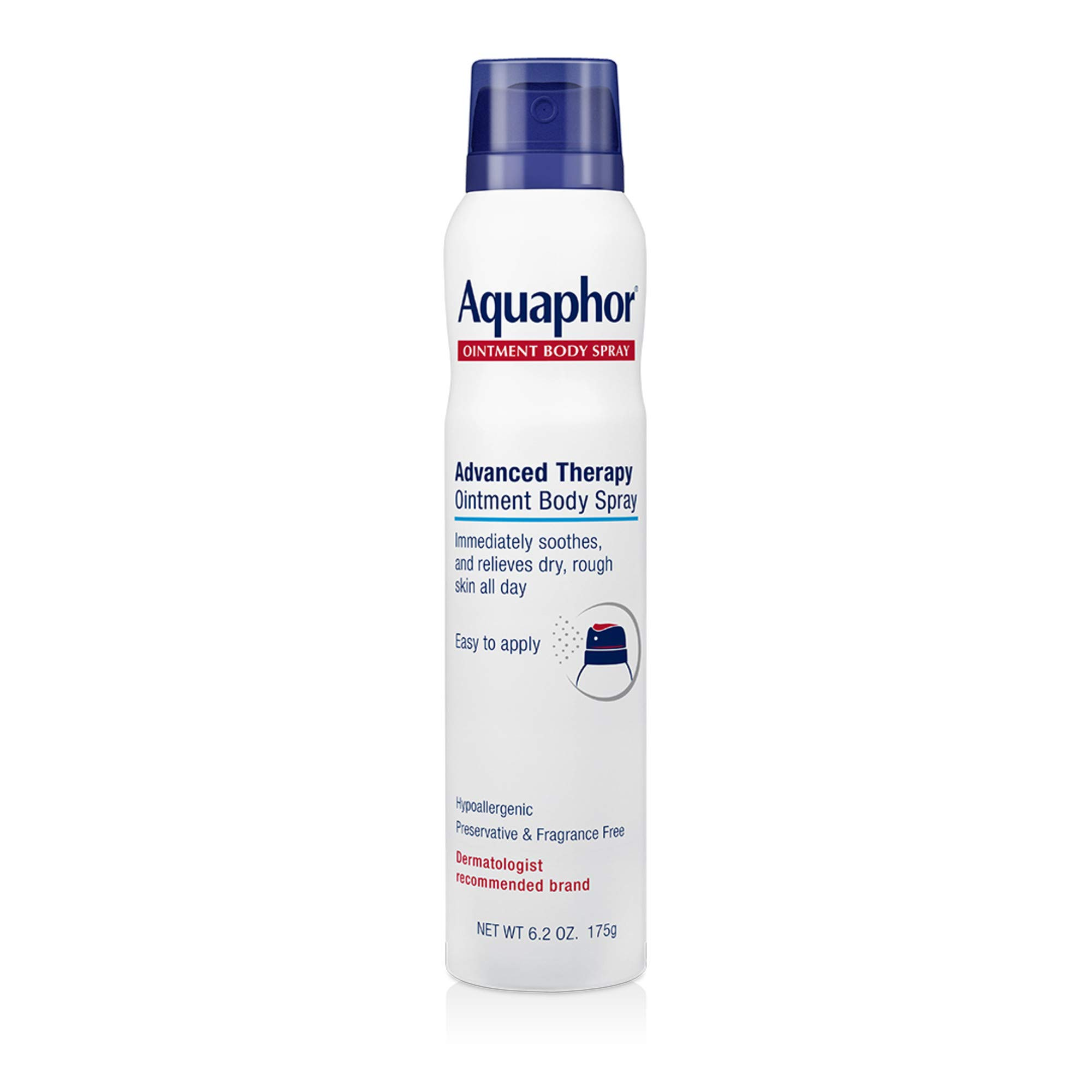 Aquaphor Ointment Body Spray - Moisturizes and Heals Dry, Rough Skin - 6.2 oz. Spray Can by Aquaphor