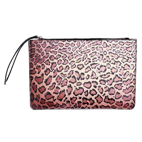 Badiya - Cartera de mano para mujer multicolor leopardo talla única