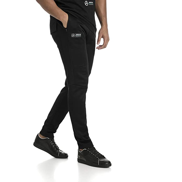 70af16953906 MAPM T7 Track Pants Black  Amazon.in  Shoes   Handbags
