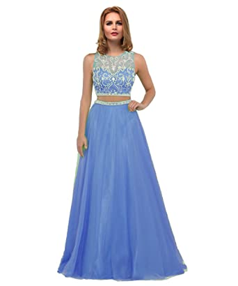 Two Piece Evening Gowns