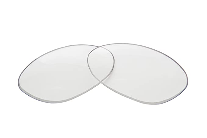9f7b39fdac Amazon.com  SFx Replacement Sunglass Lenses fits Spotters Thunder 67mm wide  (Polycarbonate Clear Hardcoat Pair-Regular)  Clothing