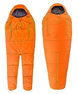 Saco de Dormir de Forma de Astronauta 3-4 Estaciones Cuello con cordón Adecuado para el Senderismo y el Senderismo: Amazon.es: Deportes y aire libre