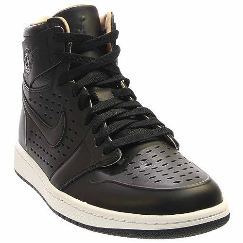 new styles eb09c c71e8 Jordan Air 1 Retro High Men s Shoes Black White 845018-030 (10.5 D