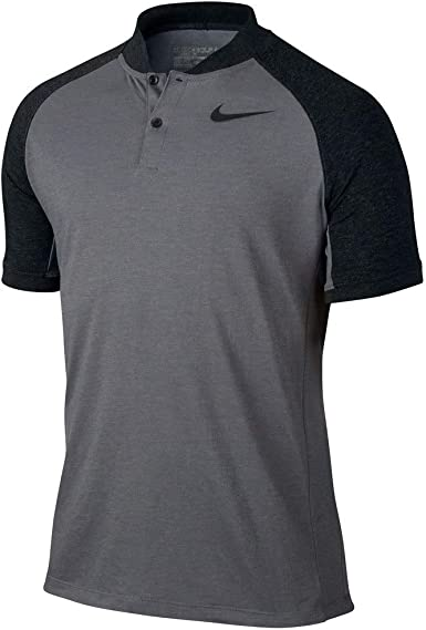 Nike MDN Fit TR Dry Color Blk Camiseta Polo de Manga Corta de Golf ...